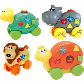 Музична іграшка зі світловими ефектами Дружелюбні тваринки