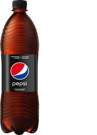 Напій Pepsi Пепсі-Блек сильногазований, 1 л