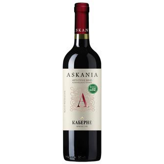 Вино Кабарне червоне сухе 0,7 л Асканія