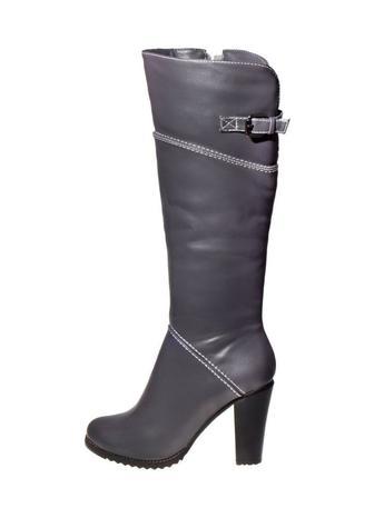 Скидка 85% ▷ Жіночі зимові чоботи T.TACCARDI сірі ▷ Minus50.Net e28bb490104e0