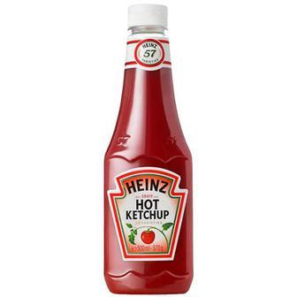 Кетчуп Heinz томатний гострий 0,5л