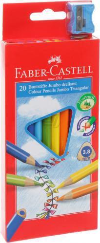 Олівці кольорові 20 шт. 116520 Faber Castell