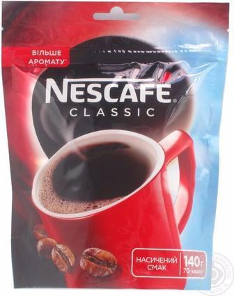 Кава розчинна класік Нескафе 60г