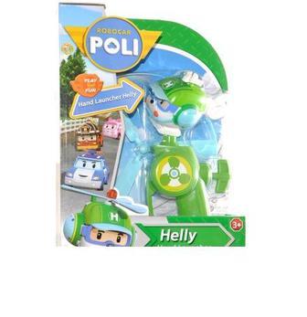 Игровая фигурка Хели вертолет с пусковым механизмом Poli Robocar (83315)