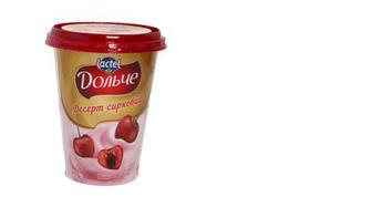 Десерт сирковий Вишня 3,4%, Дольче, 400г