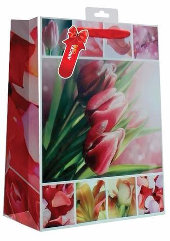 Подарочный пакет тюльпаны Angel Gifts