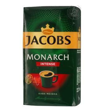 Кава мелена Jacobs Monarch Intenst 230г