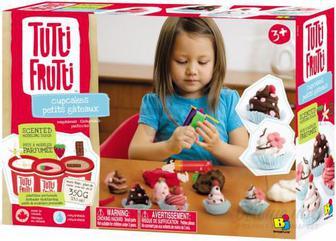 Набір для ліплення Tutti-Frutti Кекси BJTT14805