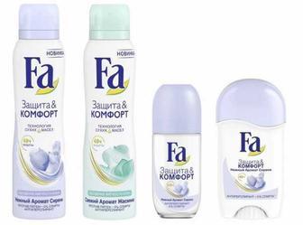Дезодоранти Fa женский и мужской