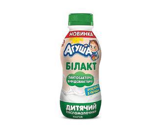 Білакт «Агуша» кисломолочний 2,5% жиру, 200г