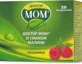 Доктор Мом леденцы от кашля №20 (малина)