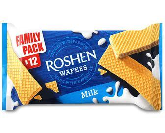 Вафлі Roshen Wafers молоко, 216г