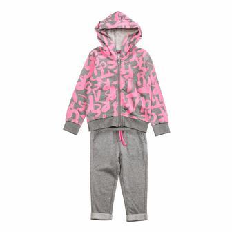 Спортивный костюм Silversun Junior серо-розовый