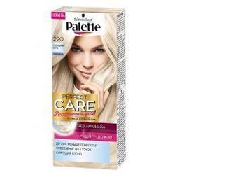 Краска для волос Palette Perfect Care тон 220 Кристальный блонд