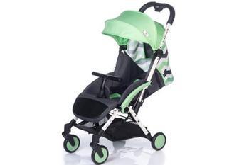 Дитяча коляска прогулянкова Babyhit Amber Plus Green Black (30165)