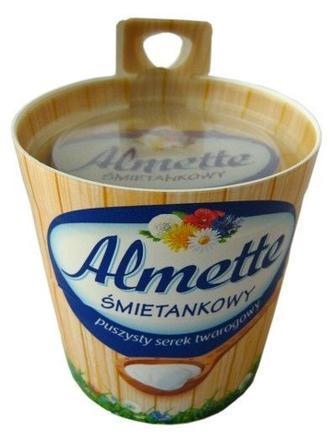 """Сир вершковий свіжий """"Альметте"""" 64% Hochland 150 г"""