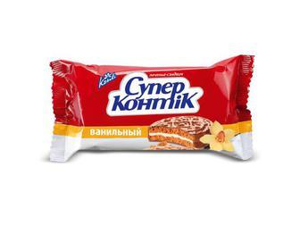 Печиво Konti «Cупер Контік» ванільний, 100 г
