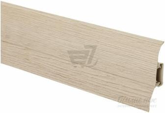 Плінтус ПВХ King Floor дуб міленіум світлий 23х62х2500 мм