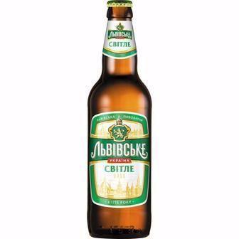 Пиво світле Львівське 0,5л