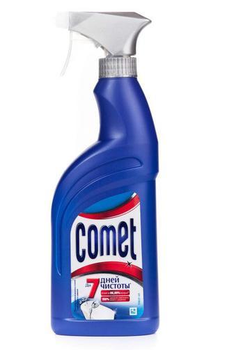 Спрей чистящий Comet для ванной комнаты, 500мл