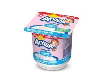 Сирок солодкий 4,1% жиру, Агуша, 100 г