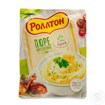 Пюре картофельное Роллтон со вкусом курицы 37г