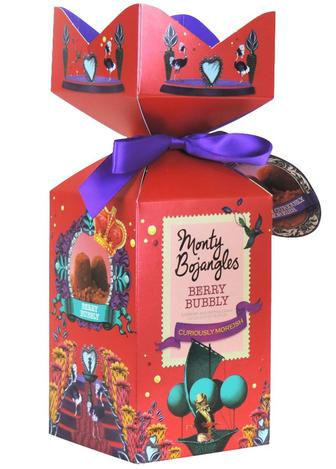 Скидка 20% ▷ Трюфель с малиной и воздушной карамелью (подарочная упаковка) Monty