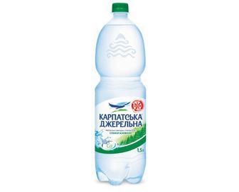 Вода мінеральна «Карпатська Джерельна» слабогазована, 1,5 л