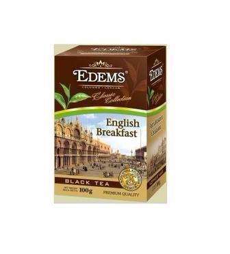 Чай листовий Earl Grey, English Classic, Gunpowder Edems 100г