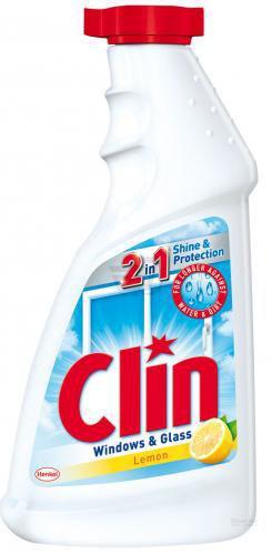 Миючий засіб для скла Clin Лимон змінний флакон 0,5 л