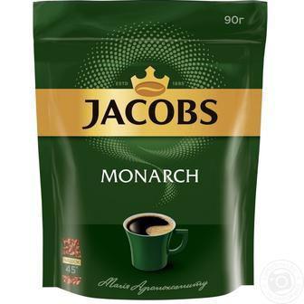 Кава Jacobs Monarch 90г