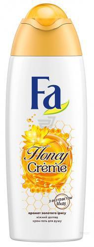 Крем-гель для душу Fa Honey Creme Аромат Золотого Ірису 250 мл