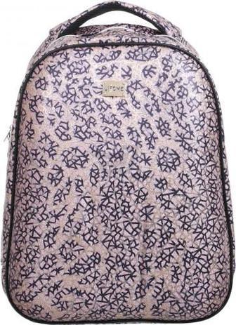 Рюкзак шкільний каркасний FANTASY World 31х13,5х40 см рожевий візерунок