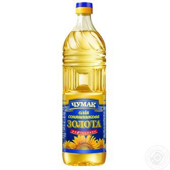 Олія соняшникова рафінована 2 л Чумак