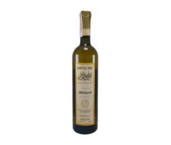 Вино Саперави, Цинандали Картули Вази белое, красн. Сухое, 0,75 л