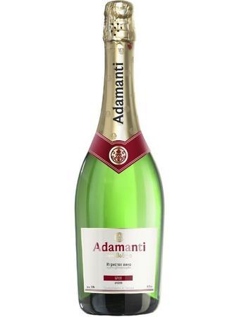 Вино игристое сортовое Адаманти 13%, 0,75 л