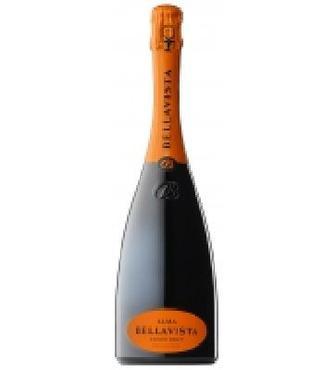 Вино ігристе Bellavista Cuvee Brut біле 1,5л 12,50%