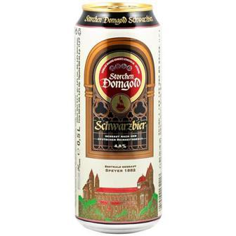 Пиво Strochen Domgold Schwarzbier 0,5л