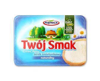 Сир Piatnica Twoj Smak вершковий натуральний 64% з коров'ячого молока, 135г