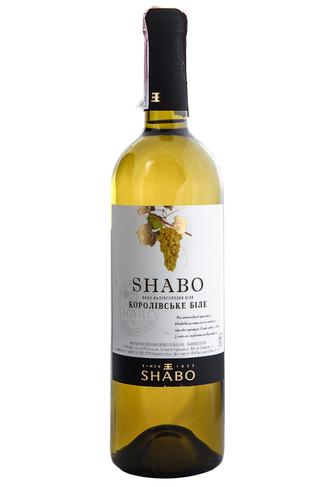 Вино Белое Shabo Полусладкое 0.75 л