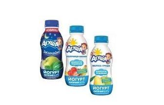 Йогурт детский питьевой 2,7% Агуша 200г