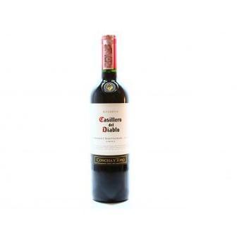 Скидка 39% ▷ Вино Casillero del Diablo Каберне Совіньйон червоне сухе, Шардоне біле сухе Concha y Toro 0,75л