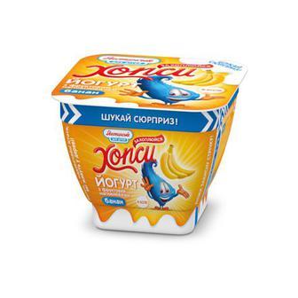 Йогурти Хопси з фруктовим наповнювачем 220г