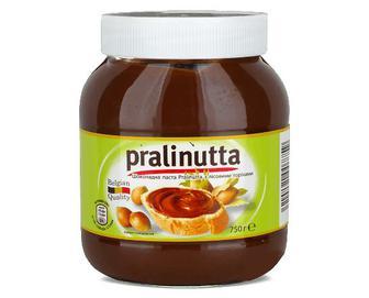 Паста Pralinutta, шоколадна з лісовим горіхом, 750г