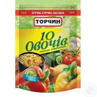 Приправа 10 овочів Торчин 170 г