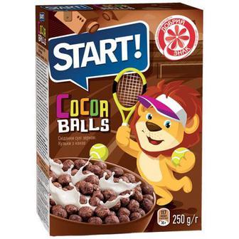 Скидка 25% ▷ Кульки Start з какао 250г
