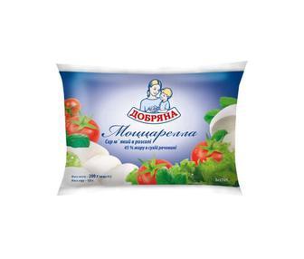 Сыр Добряна Моцарелла в рассоле 45% 125г