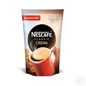 Кава розчинна Classic Crema Nescafe 100г