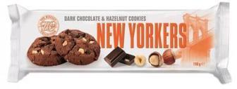 Печенье NEW YORKERS черный шоколад с лесным орехом 150г