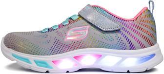 Кросівки для дівчаток Skechers Litebeams-Gleam сірі